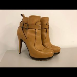 Etro tan/Brown booties sz 38